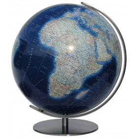 Globe lumineux Duo Azzurro avec pied en métal