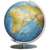 Globe sur pied Columbus en métal Duorama lumineux