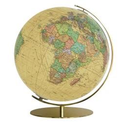 Globe Columbus Royal sur pied en laiton