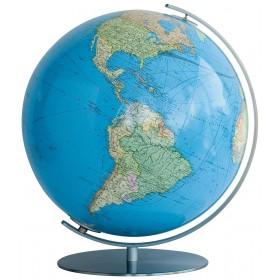 Globe Columbus Terrestre Duo avec pied en métal 51cm
