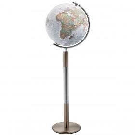 Globe terrestre lumineux Ø 40 cm Duo Alba Swarovski
