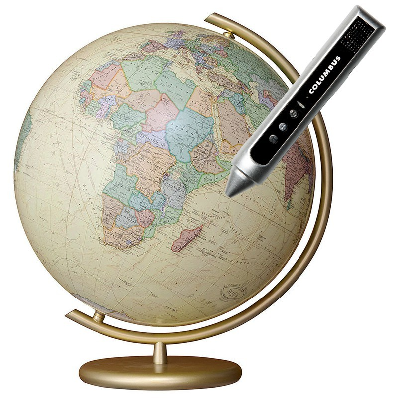 Globe lumineux Columbus Royal cristal 40 cm