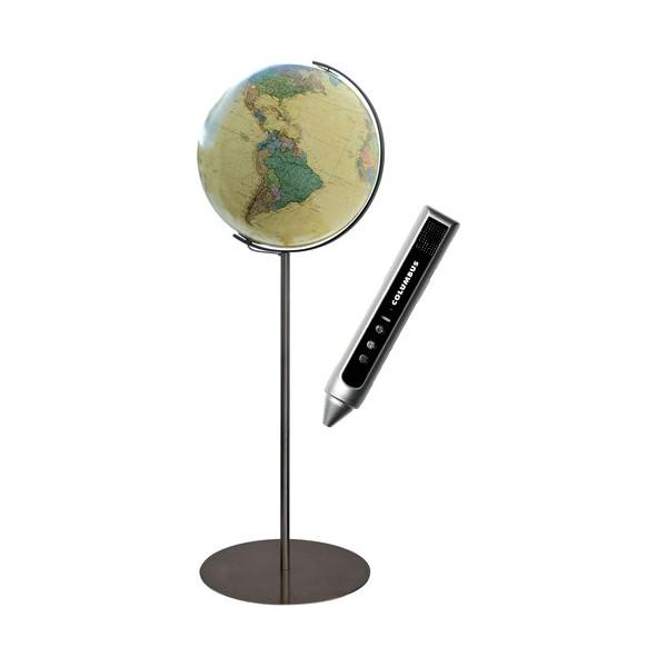 Globe Terrestre Royal 40 cm avec pied en métal 118 cm