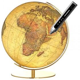 Globe terrestre de luxe Royal Swarovski