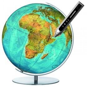 Globe terrestre Swarovski