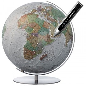 Globe Terrestre Duo Alba Swarovski interactif