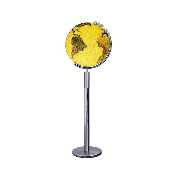 Globe Terrestre Royal 40 cm sur pied en metal 118 cm