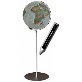 Globe Terrestre Duo Alba COLUMBUS avec pied en métal 118 cm