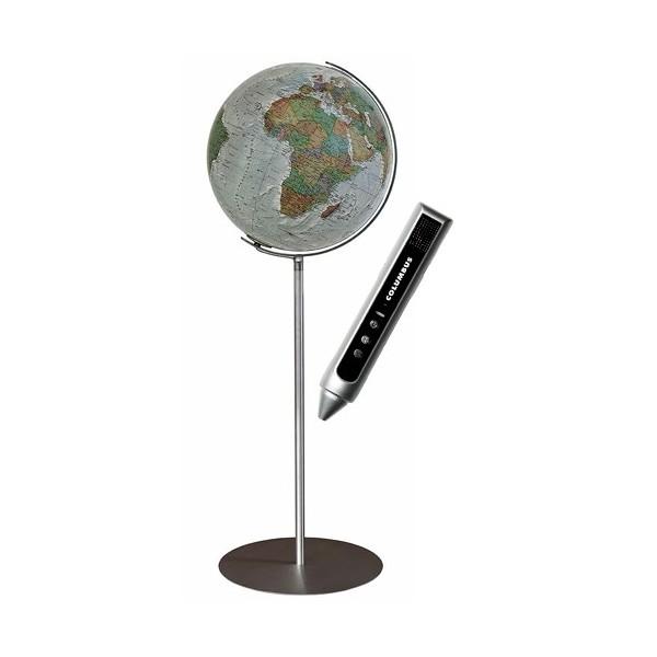 Globe Terrestre Duo Alba Columbus avec pied de 118 cm
