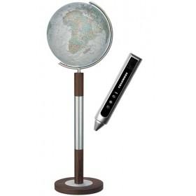 Globe Terrestre Duo Alba en cristal de 118 cm