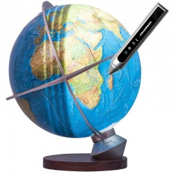 Globe Terrestre Duorama Jour/Nuit interactif