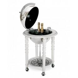 Globe bar Elégance blanc Ø40 cm de Zoffoli