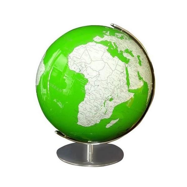 Globe Artline vert Swarovski Columbus 34 cm