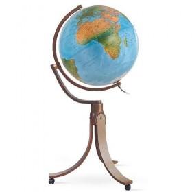 Globe Emily Blue lumineux Ø 50 cm