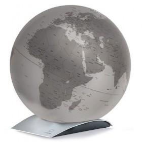 Globe argent Capital Q métallisé