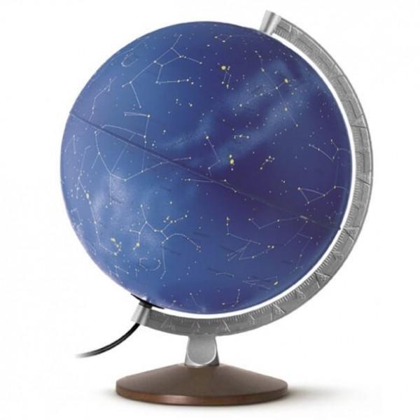 Globe stellaire zodiacal lumineux