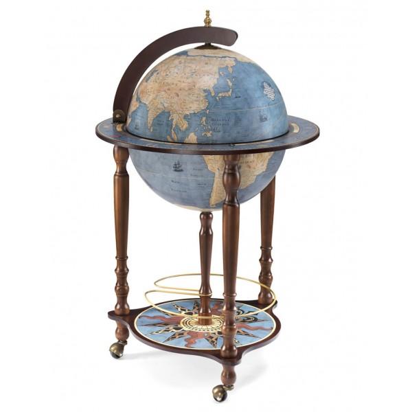 Globe bar Da Vinci Blue - Zoffoli