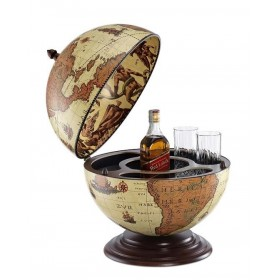 Mappemonde Nettuno Safari Ø40 cm - mini bar