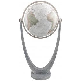 Globe terrestre lumineux Duo Alba Ø 51 cm cristal