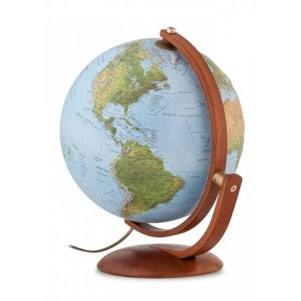Globe terrestre lumineux Ø 37 cm