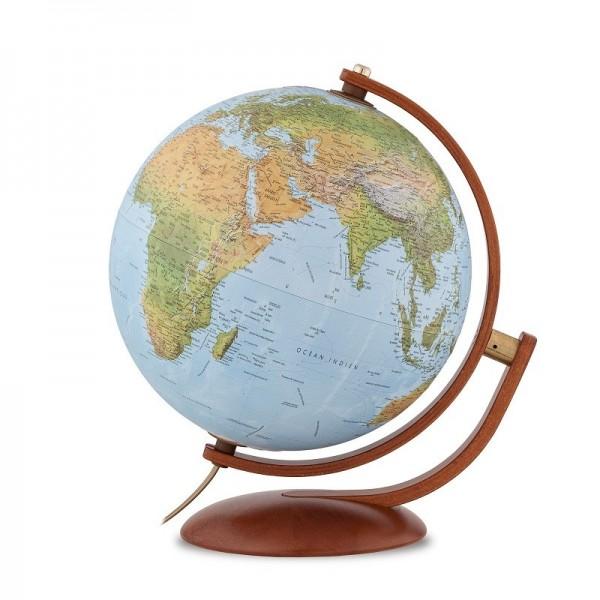 Globe terrestre relief Ø30