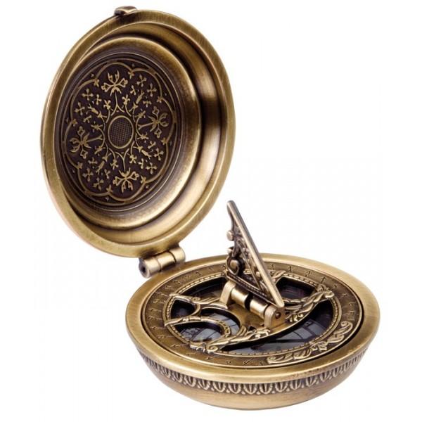 Boussole de poche en métal