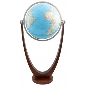 Grand globe terrestre lumineux Duo 60cm