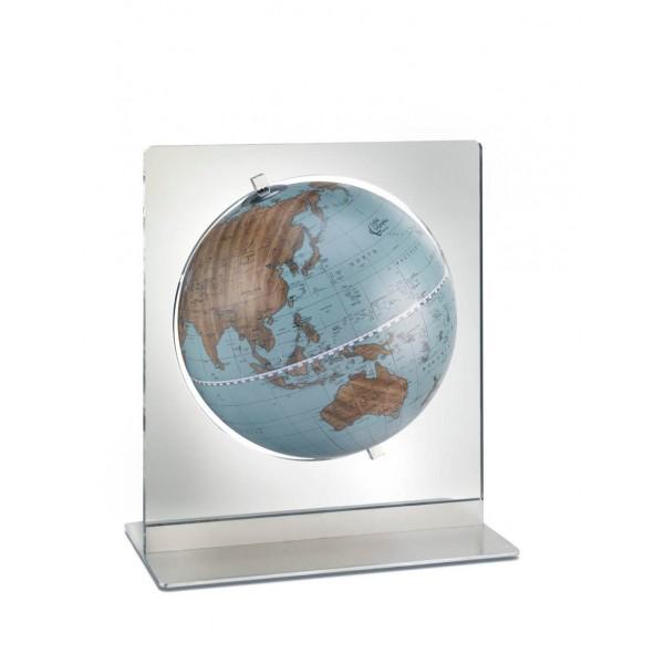 Globe de bureau Aria Ø22 cm Bleu