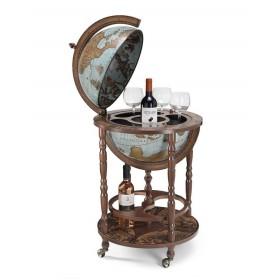 Globe bar Minerva Blue Ø40 cm Zoffoli