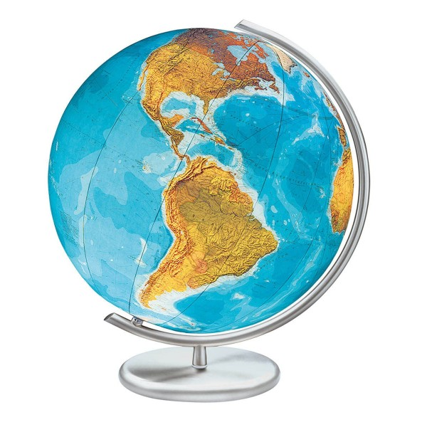 Globe Terrestre lumineux Duo cristal 40 cm