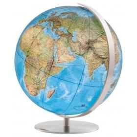 Globe terrestre cristal Ø34 cm Duo