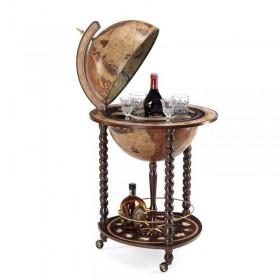 Globe bar Explora brun Ø40 cm Zoffoli