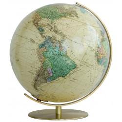 Globe Royal avec pied en laiton