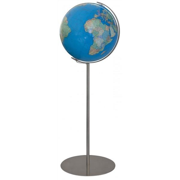 Globe Terrestre Duo 40 cm sur pied en métal 118 cm