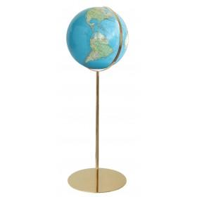 Globe design Ø40cm sur pied en métal 118 cm