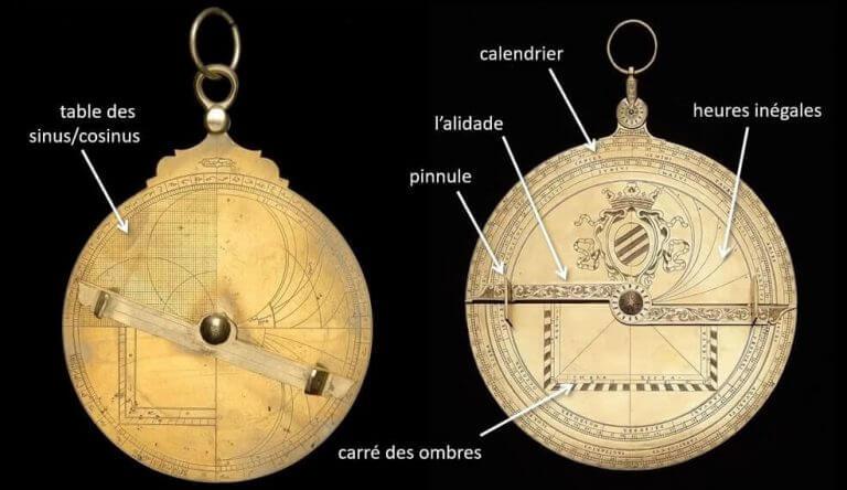 dos de l'astrolabe