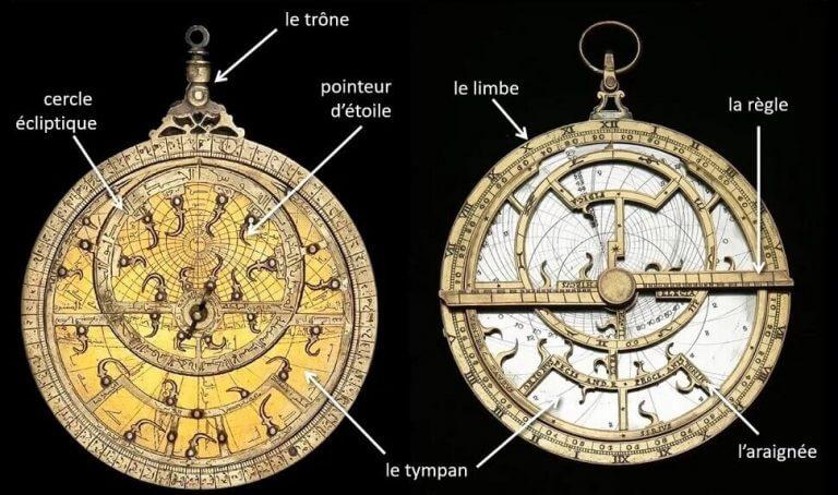face avant astrolabe