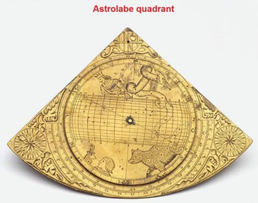 astrolabe quadrant