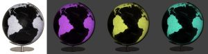 globes Columbus couleur