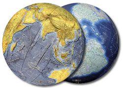 Mappemonde Azzurro Columbus